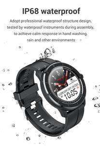 Image 5 - LEMFO Astuto Della Vigilanza Delle Donne Degli Uomini di Schermo di Tocco Pieno di Cuore Personalizzato Rate Monitor Messaggio di Promemoria di Sport di Salute Tracker Smartwatch T6