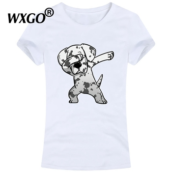 2019 Funny Puppy T Shirt Women Cotton ins Fashion Streetwear T-shirt Women Lovely Short Sleeve Funny Print Shirt Dog Tops Tees