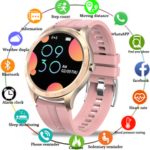 LIGE LED full touch screen Smart Watch Women IP67 Waterproof Fitness Tracker Hea