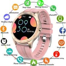 LIGE LED full touch screen Smart Watch Women IP67 Waterproof