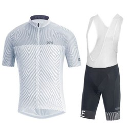 Gore new Mens Short Sleeve Cycling Jersey Bike Shirt Mtb Uniform Clothing Bike Wear Clothes Maillot Ropa Ciclismo Cycling Sets