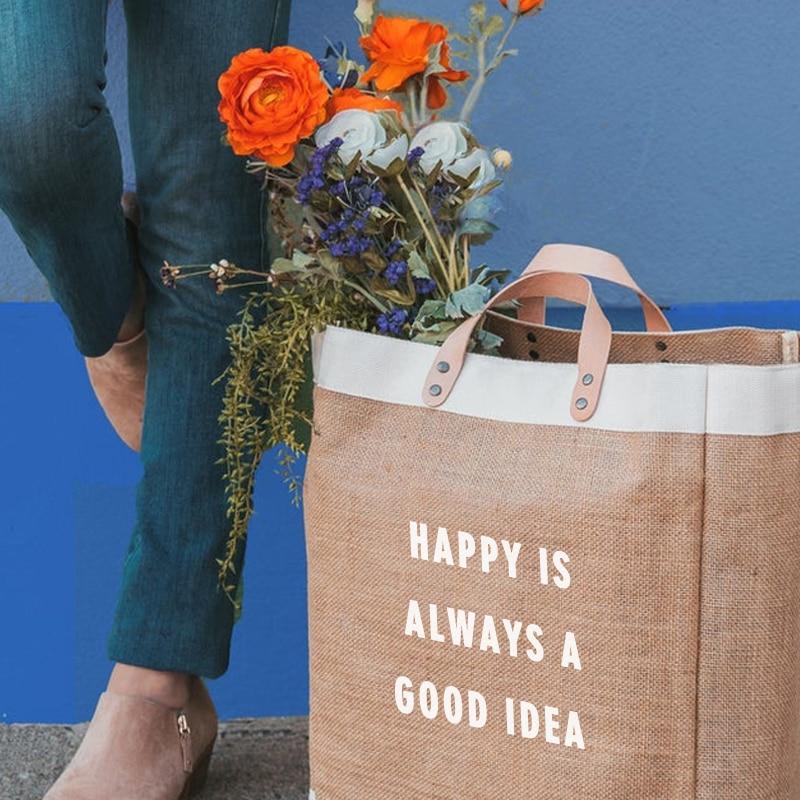 Monogram Beach Bag Large Tote Roses /& Burlap Beach Bag