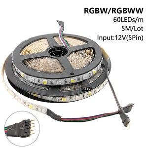 Image 5 - 5050 Led Strip Dc 12V Geen Waterdichte/Waterdichte 60LED/M Rgb/Wit/Warm Wit Flexibele led Light Strips 5 M/partij