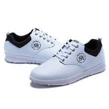 Women Professional Golf Shoes Comfortable Outdoor Studs Girls Waterproof Golf Sneakers White Gym Sneaker Designer Golf Trainers(China)