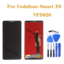 цена на 5.7 for Vodafone Smart X9 display Touch Screen Digitizer Assembly for vfd 820 vfd820 vfd822 vfd-820 vfd-822 LCD Repair parts