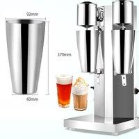 Milkshake Machine Stainless Steel Milk Shake Machine Mixer Shaker Blender Milk Foam Maker