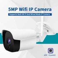 HD 1080P 2MP 5MP Wifi IP камера, уличная Беспроводная Onvif HD ночного видения CCTV Bullet камера безопасности TF слот для карты приложение CamHi