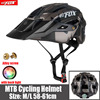 2019 corrida capacete de bicicleta com luz in-mold mtb estrada ciclismo capacete para homens mulheres ultraleve capacete esporte equipamentos de segurança 15
