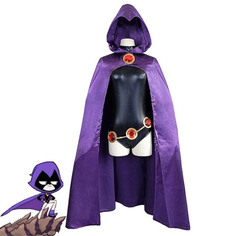 Nouveau Anime cosplay ado Titans corbeau juvénile personnage costume super-héros ensemble enfant jeu de rôle costume adulte vêtements