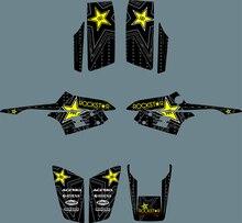 New Style DECALS STICKERS Graphics Kits for Yamaha Warrior 350 ATV Autocollant Moto Pegatina Moto