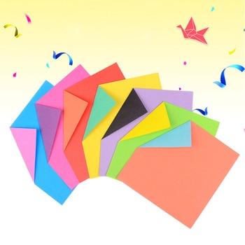 בית מסיבת אספקת חתונה לחתוך נייר חומר אוריגמי נייר דו צדדי צבעוני מתקפל DIY רעיונות קרפט 24 גיליונות
