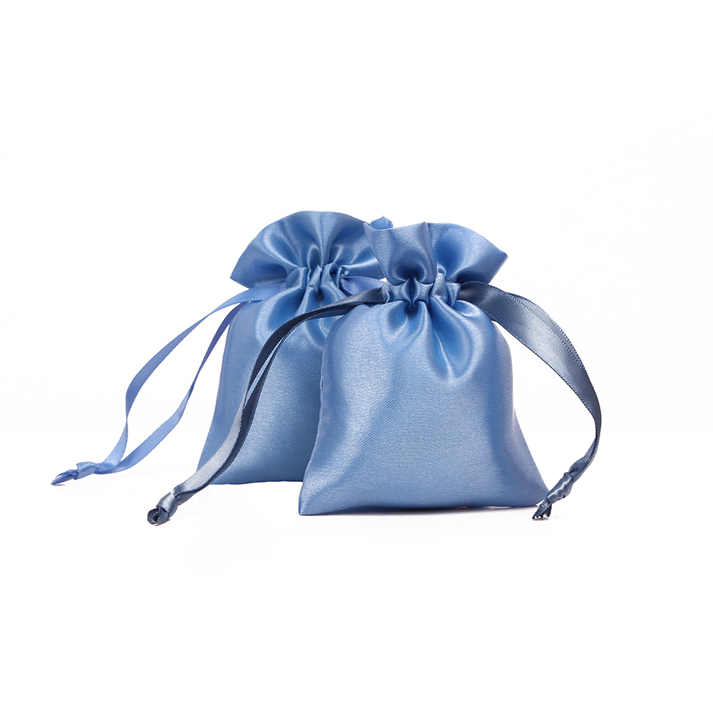 100pcs/lot Satin Cheap Drawstring Bag Customized Jewelry Bag Wholesale Custom Gift Bags Wholesale Gift Pouch For Jewelry Gift