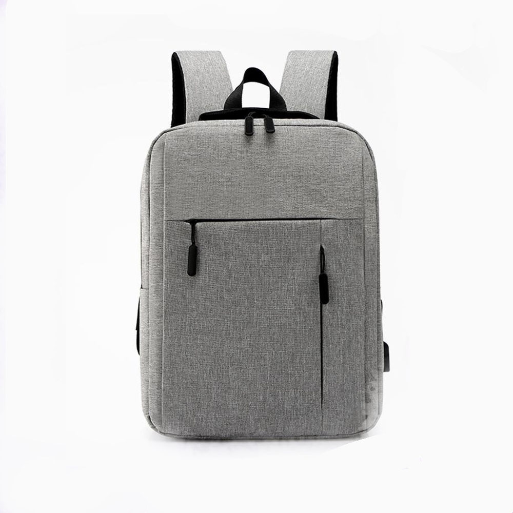 Cross Border Supply Of Goods Logo Customizable USB Backpack Casual MEN'S Business Bag Laptop Backpack A Generation Of Fat