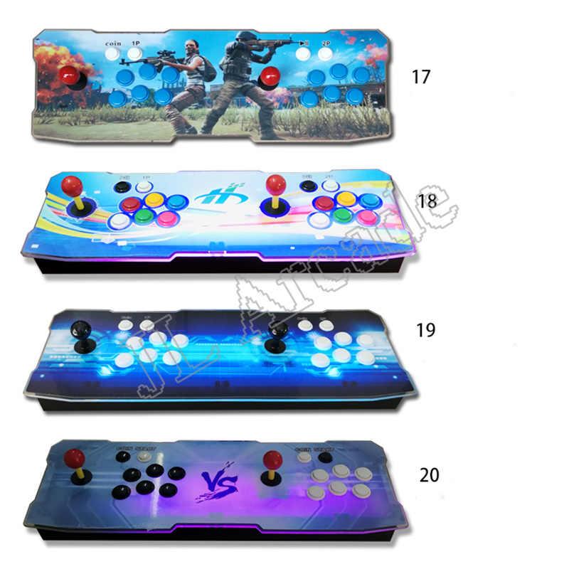 Caixa de pandora 9d 2500 arcade game console para tv pc ps3 monitor suporte 3p,4p jogo com pause pandora vídeo arcade máquina