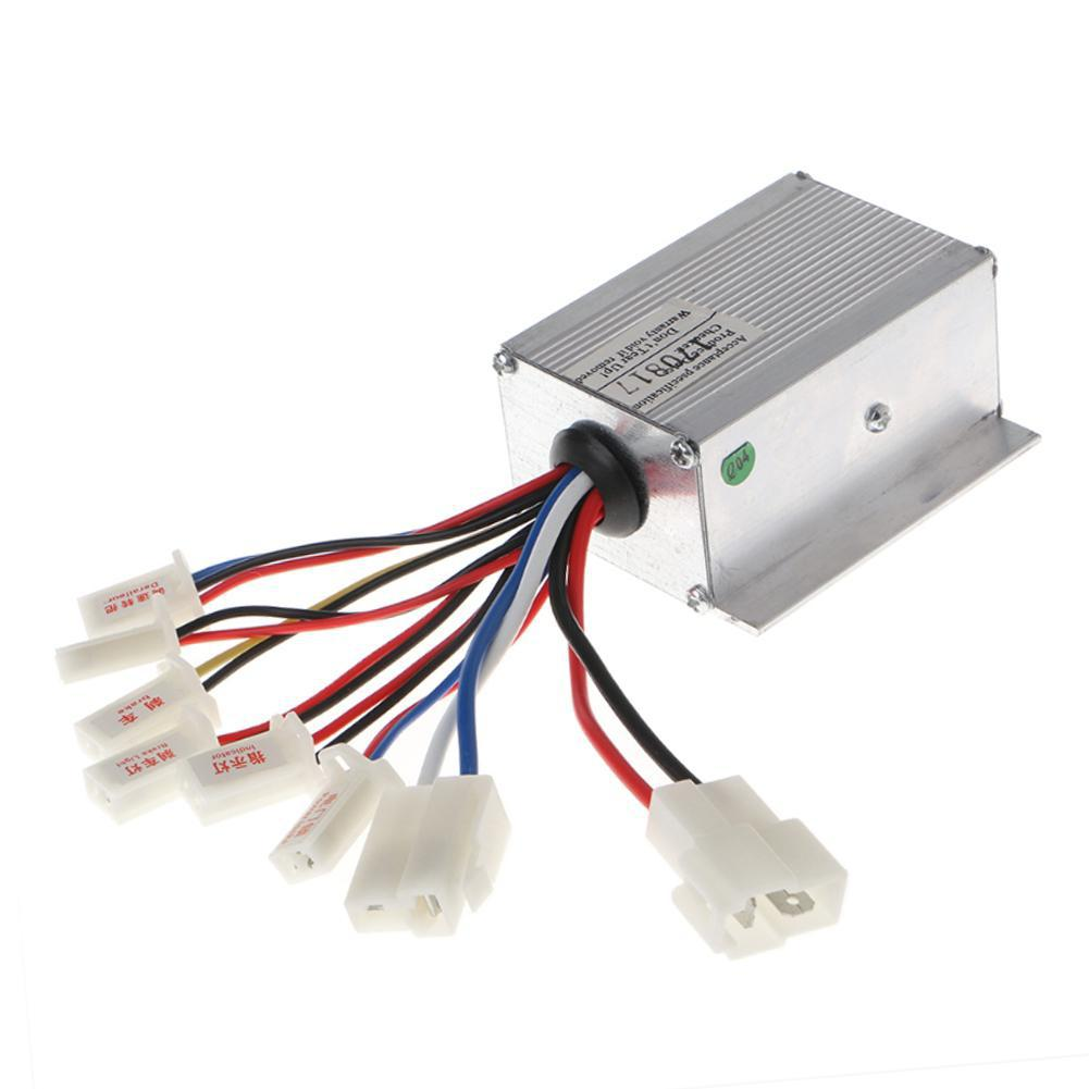 24V 250W Motor Speed Brush Controller For Electric Bicycle Bike Scooter Aluminium alloy
