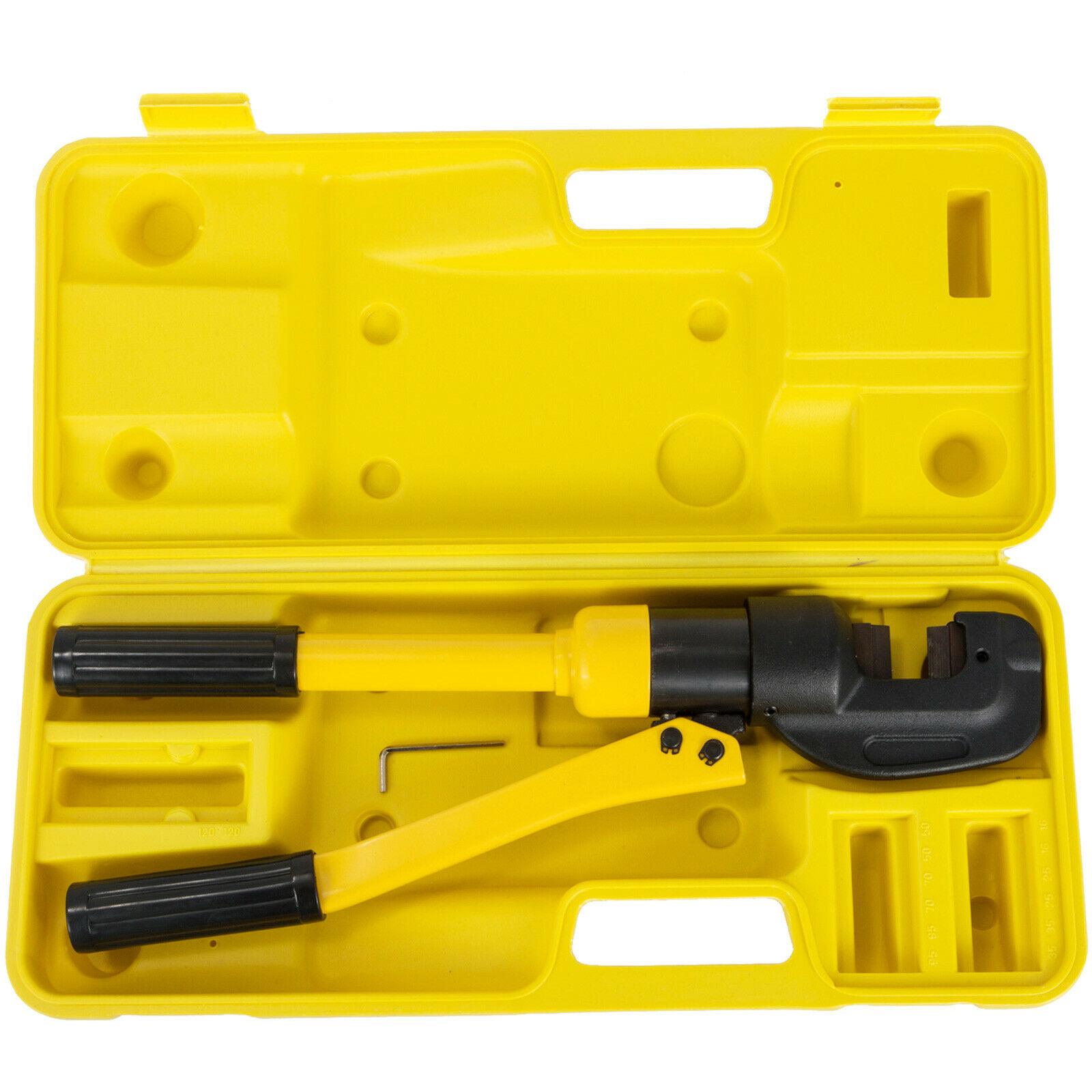 VEVOR 8 Ton Integral Hydraulic Rebar Cutter Clamp W/ Insulated Handle Max Cutting 5/8