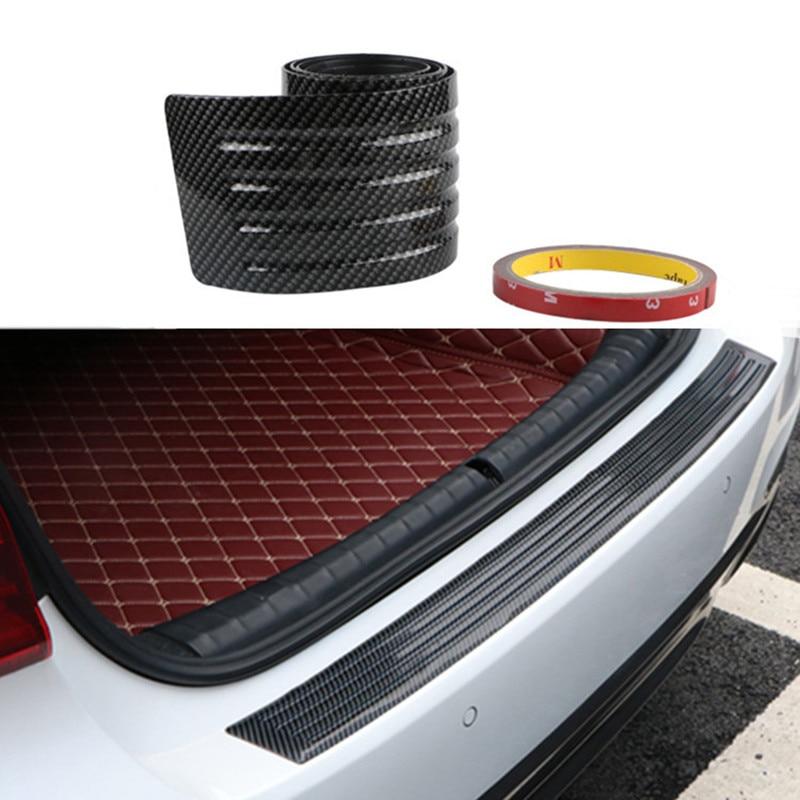 Купить 90/104 см автомобильный бампер из углеродного волокна для багажника