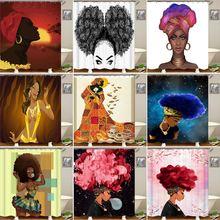 Модные уникальные ЮАР Аниме фигурки Шторки для душа с принтом Водонепроницаемая фигура Шторки для душа с принтом с 12 крючками для ванной