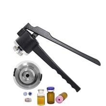 Frasco de vidro crimper 13mm 15mm 20mm tubos de ensaio máquina de selagem tampa capper garrafa friso tampando ferramentas