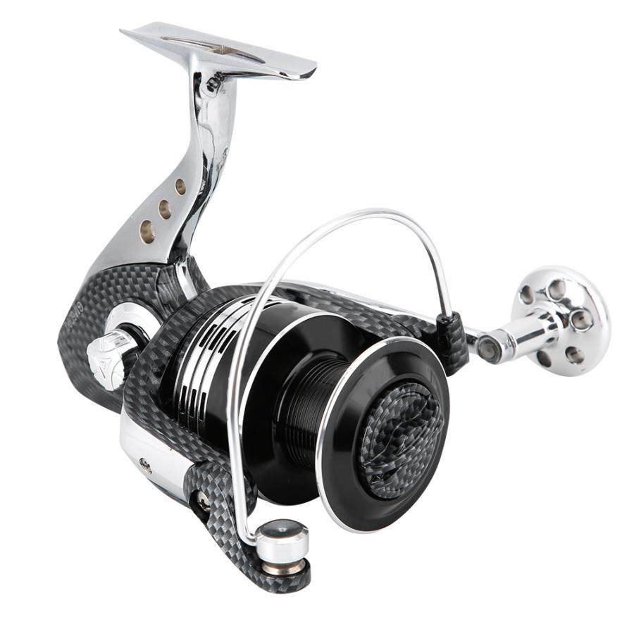 1PCS Fishing Reel 5000/6000series 14 Ball Bearing 4.7:1 Gear Ratio Spinning Reel Folding Handle Fishing Wheel Left / Right Hand