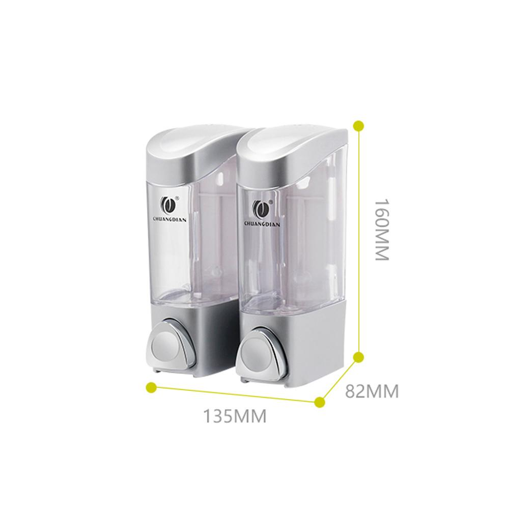 Liquid Soap Detergent Dispenser Wall Mount Bathroom Liquid Hand Soap Holder Shower Container For Bathroom Hospital Hotel Kitchen in Liquid Soap Dispensers from Home Improvement
