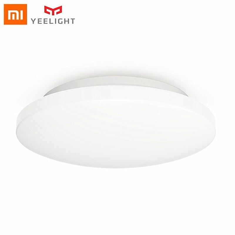 Yeelight luz de teto led inteligente jiaoyue 260 lâmpada redonda mi casa controle remoto para mi jia app 2019 novo ylxd62yi atacado