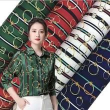 Chiffon-Fabric Curtain Dress Diy Cloth Decorative-Upholstery Patchwork Print for Skirt