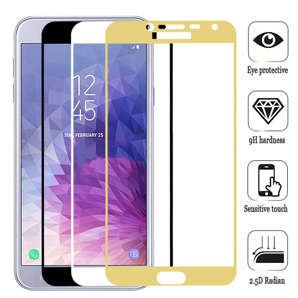Full Cover Tempered <font><b>Glass</b></font> For <font><b>Samsung</b></font> Galaxy A3 A5 A7 J3 <font><b>J5</b></font> J7 2016 2017 J2 Core Screen protector <font><b>Glass</b></font> Protective Safety Film image