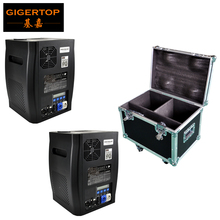 Gigertop 600W Cold Fireworks Machine DMX Control High Power Spark Fountains LED Display 2IN1 Flightcase Packing