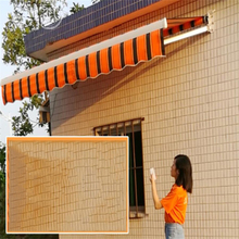 5*4m Electric Wireless remote retractable canopy Outdoor Gazebos Telescopic sheds Waterproof awning