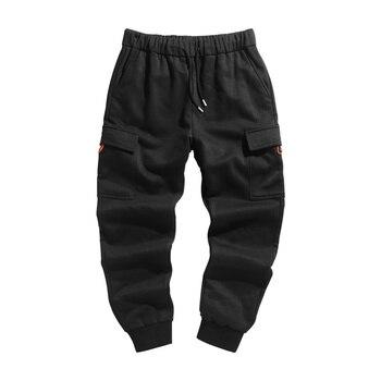 Pants Mans Casual Pants Workwear Long Pants Slim Pants Loose Cargo Pants for Men Pants with Side Stripe Mens Pants Camo NN50CK фото