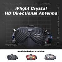IFlight Crystal HD Patch antena direccional de 5,8 GHz, módulo de largo alcance de alta ganancia para Dron de carreras con visión en primera persona