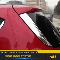For Ford KUGA Escape 2017 2018 Side Deflector Cover Trim Frame Sticker Exterior Accessories