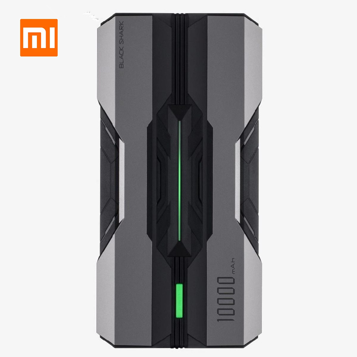 Xiaomi Power-Bank Shark Usb-Output Black 10000mah Quick-Charge Huawei iPhone 11 18W  title=