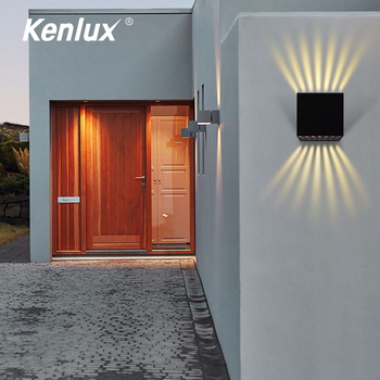 Outdoor Waterproof IP65 Wall Lamp Modern LED Wall Light Indoor new Sconce Decorative lighting Porch Garden Lights Wall Lamps led wall light outdoor waterproof ip65 porch garden wall lamp adjustable wall sconces white black cube led wall mounted lamps