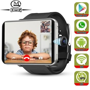 Support Google Play Android 7.1 Smart Watch GPS WiFi 3GB + 32GB 4G Smartphone Men SmartWatch 5.0mp Camera 2700mAh mobile phone askmeer h8 men smart watch 4g wifi gps sport watch phone android 7 1 os mtk6739 1g 16gb ip68 waterproof smartwatch 5 0mp camera