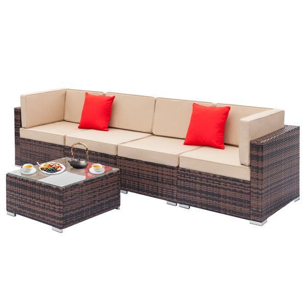 Sofa Set with Coffee Table  3
