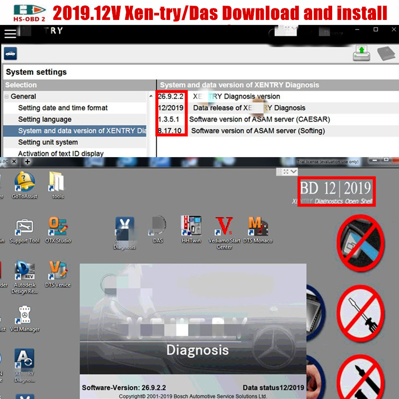 Diagnostic-Tool Software 64bit Mb Star for C4/C5 WIN7 Xentry/das Download And Install-Through-Team-Viewer title=