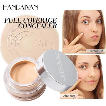 Handaiyan Makeup New Concealer Cover Freckles Acne Marks Dark Circles Repair Foundation Cream For WomanTSLM1 dermacol brand high quality concealer liquid foundation cover freckles acne marks waterproof professional primer cosmetic makeup