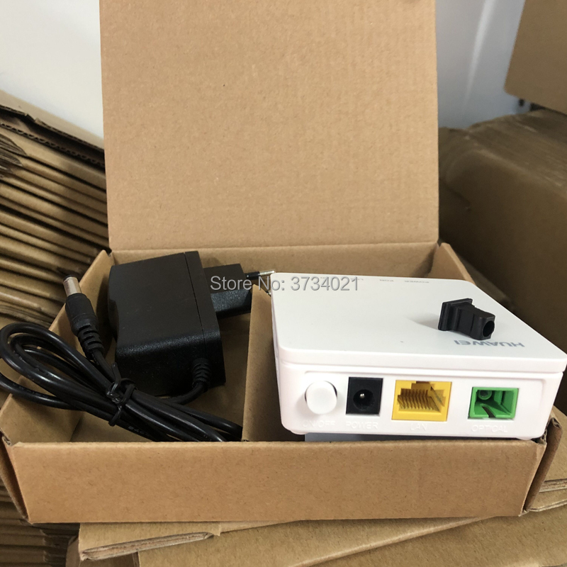Free Shipping 21pcs HG8010H Wireless Gpon Terminal Wireless ONU With 1 GE Ethernet Ports, SC APC Interface English Firmware