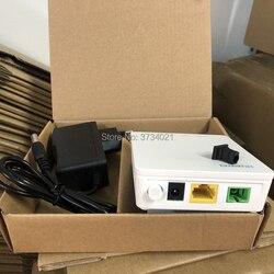 Novo huawei hg8010h gpon terminal sem fio onu com 1 portas ethernet ge, sc apc interface inglês firmware