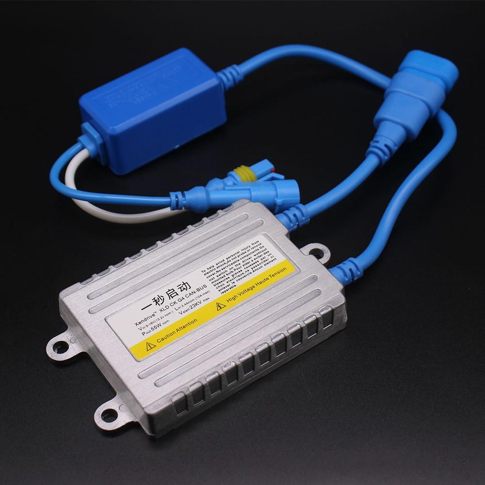Estabilizador y regulador de voltaje accesorios del rectificador del coche Anti interferencias impermeable automotriz 12V 55W faro Universal