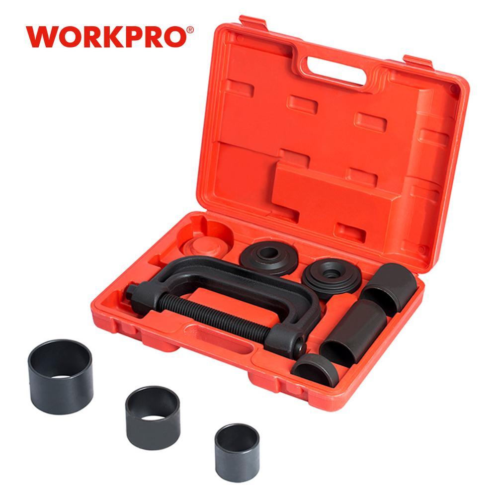 Conjunto de herramientas de reparación de automóviles WORKPRO Juego de instalador de removedor de ensamblado de bolas 4WD