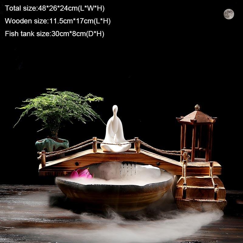 110 v 220 v estilo chinês zen