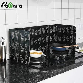 Narzędzie do gotowania kuchnia olej płyta przegrody 3 stronne osłona przed rozpryskiem kuchenka izolacja cieplna folia aluminiowa oleju Splash Proof tarcza tanie i dobre opinie Ce ue Specjalne narzędzia Aluminum foil Ekologiczne Zaopatrzony Splatter ekrany