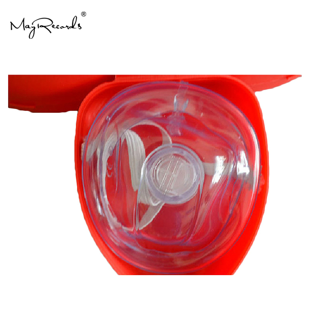 CPR Resuscitator Rescue Emergency First Aid Masks 6