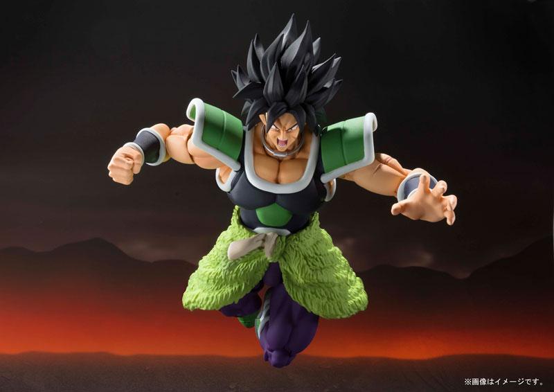 "Image 5 - ""Dragon Ball SUPER"" Original BANDAI SPIRITS Tamashii Nations S.H. Figuarts SHF Action Figure   Broly SuperAction & Toy Figures   -"