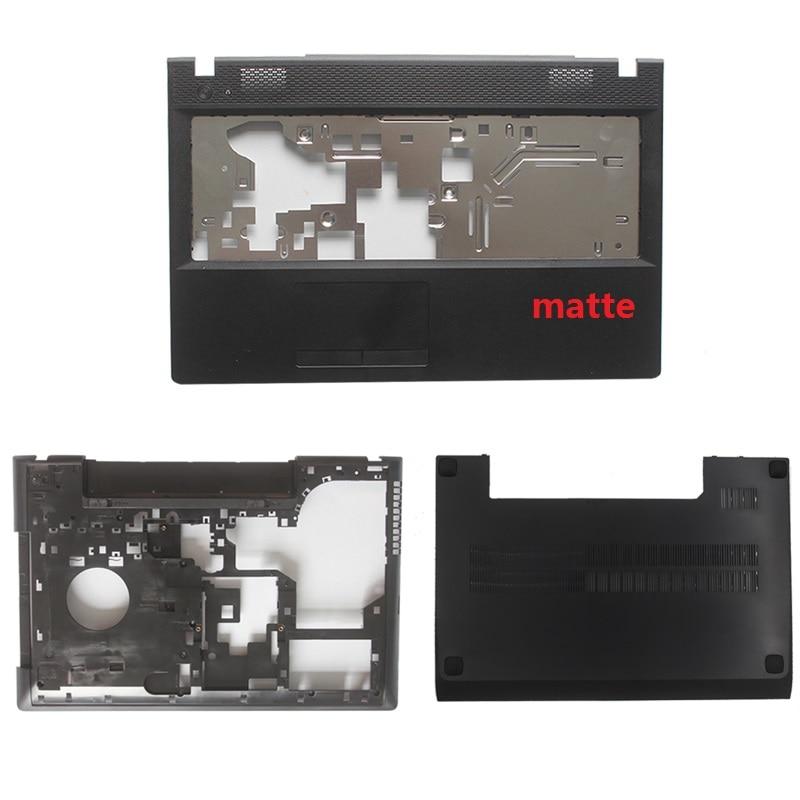 NEW For Lenovo G500 G505 G510 G590 Laptop Front Cover Palmrest COVER/Bottom Case Base Cover/laptop Case Back Cover Black