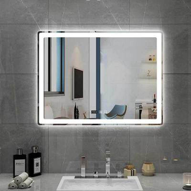 60Cm,3000k QJUZO Lampe de Miroir Salle de Bain Bois Avec Interrupteur Moderne LED Applique Murale Int/érieure IP44 /Étanche Lampe de Coiffeuse Applique Miroir Cosm/étique Coiffeuse /Éclairage
