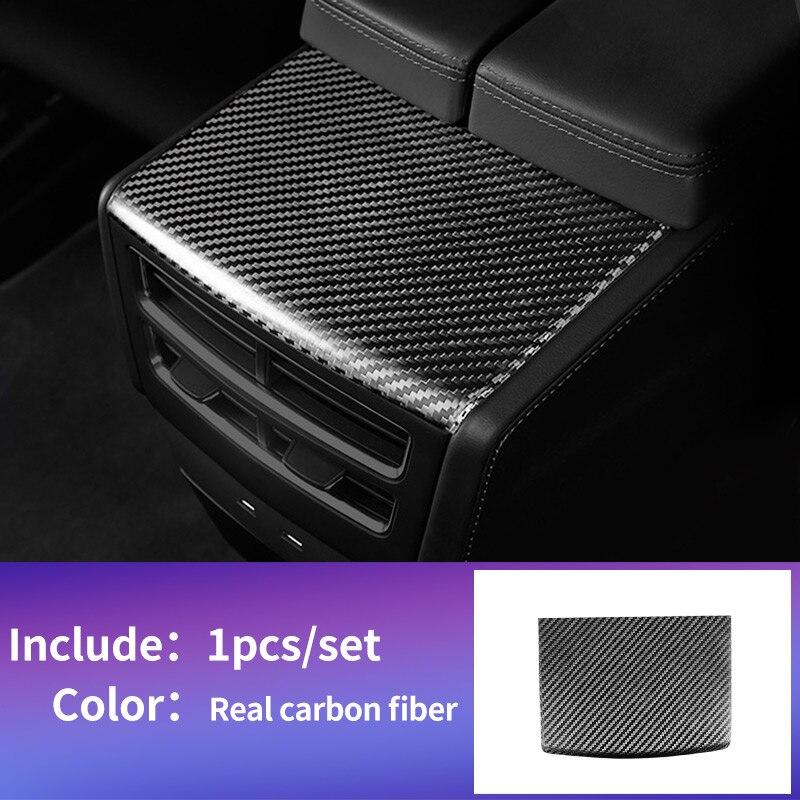 Panneau arrière pour tesla model s accessoires tesla model x carbone tesla 2018 model s voiture tesla model s intérieur en fibre de carbone tesla x